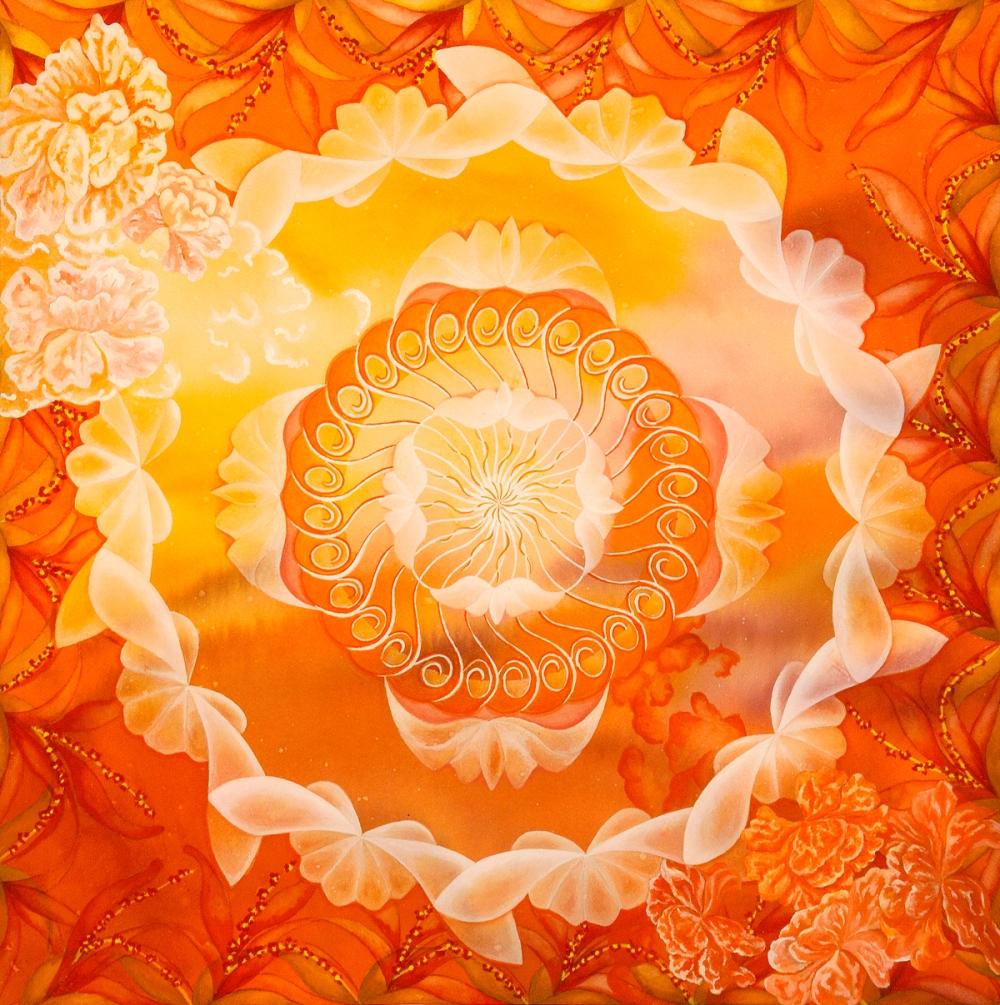 """""""Intimità"""" di Shanti Tozzi Udgiti - www.mandalapainting.com"""