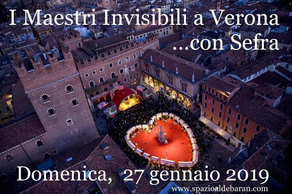 I Maestri Invisibili a Verona con Sefra (metodo di Igor Sibaldi) – domenica 27 gennaio2019
